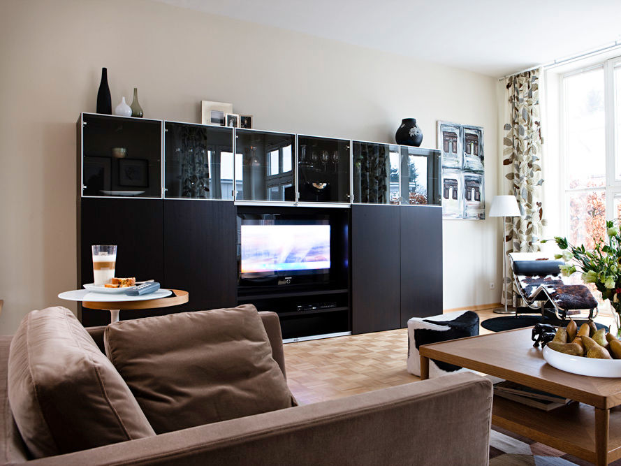 wohnzimmer ideen ikea besta. Black Bedroom Furniture Sets. Home Design Ideas