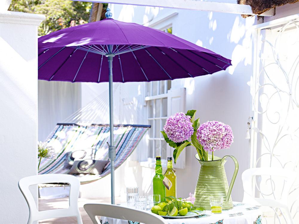 standfeste sonnenschirme zuhause wohnen. Black Bedroom Furniture Sets. Home Design Ideas