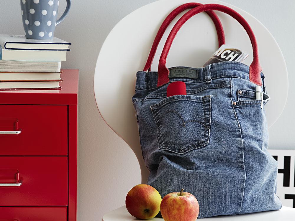 jeanstasche zuhause wohnen. Black Bedroom Furniture Sets. Home Design Ideas