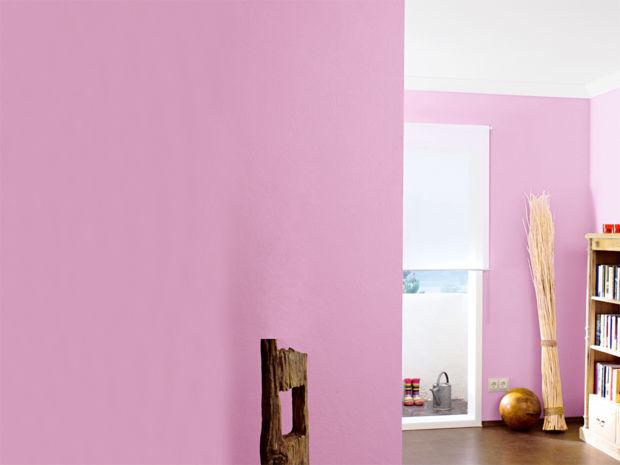 Wohnen mit eiscremefarben zuhausewohnen - Himbeer wandfarbe ...