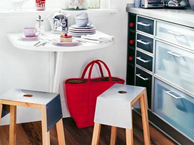 Ideen f r mehr platzgewinn zuhausewohnen for Ikea klapptisch