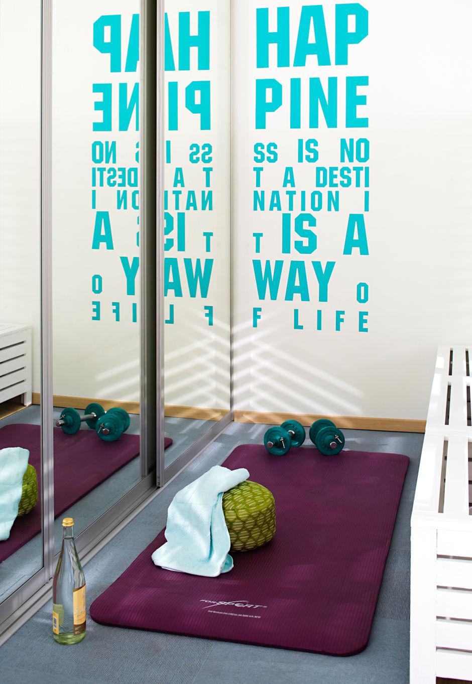 Zimmer frei zuhausewohnen - Wandtattoo hinter fernseher ...