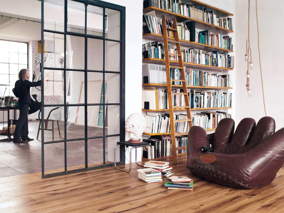 leben wie im loft zuhausewohnen. Black Bedroom Furniture Sets. Home Design Ideas