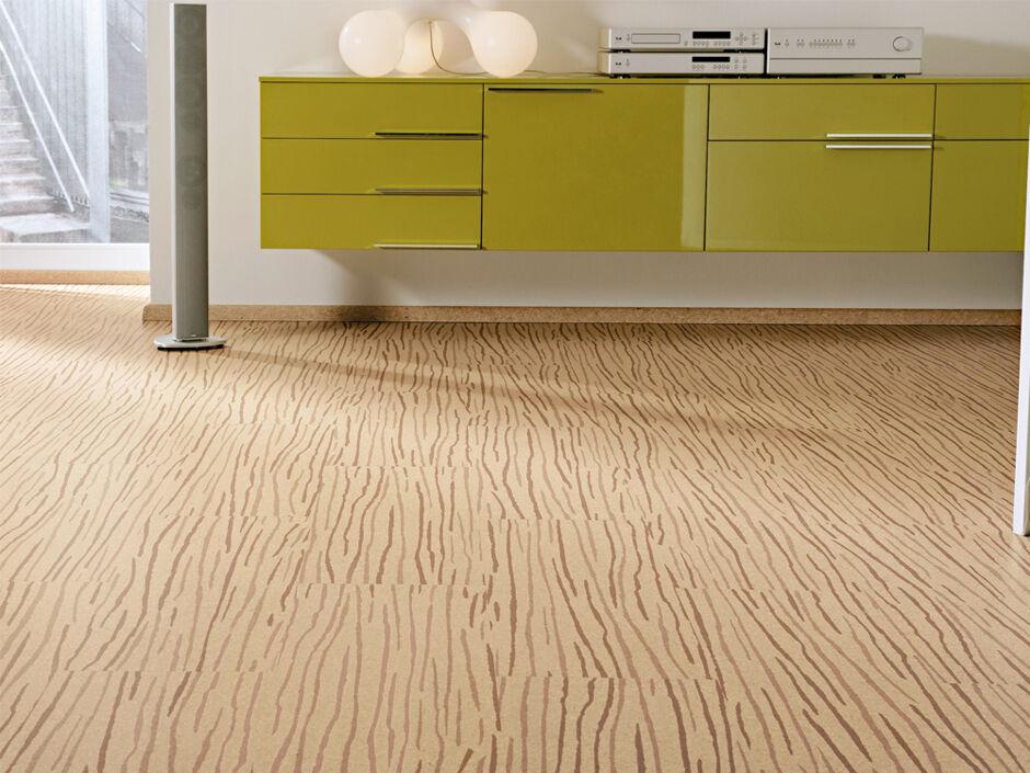 Linoleum und kork zuhausewohnen for Gartengestaltung 400 m2